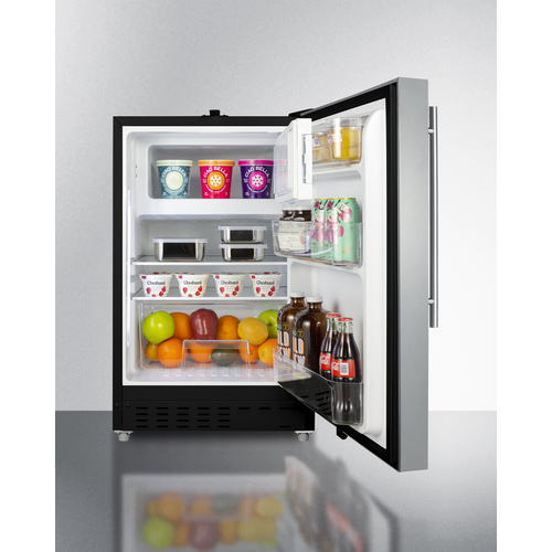 ALRF49BCSSHV Refrigerator Freezer Full