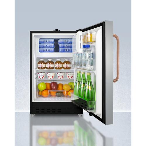ADA302BRFZSSTBC Refrigerator Freezer Full