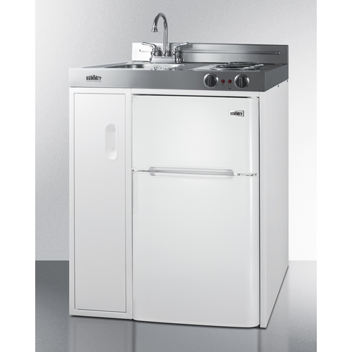 C30EL Kitchenette Angle