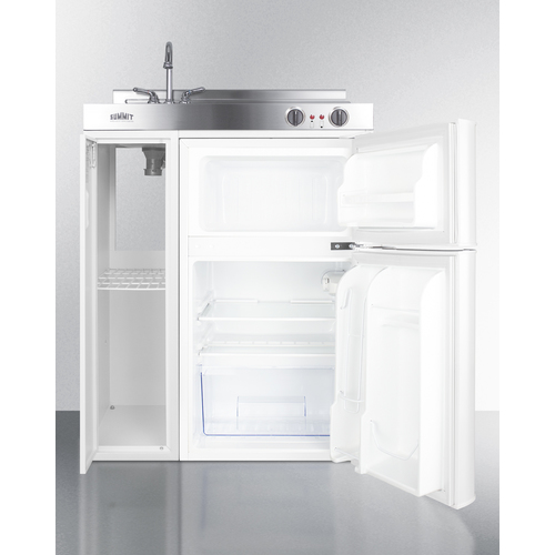 C30EL Kitchenette Open