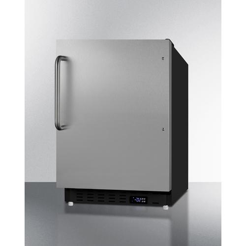 ALFZ37BSSTB Freezer Angle