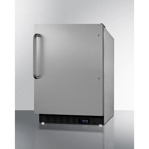 ALFZ37BCSS Freezer Angle