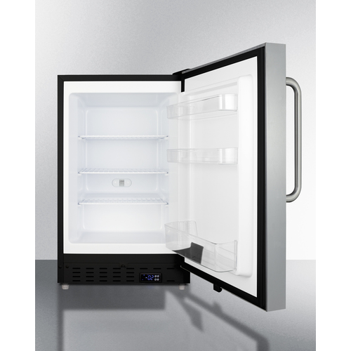 ALFZ37BCSS Freezer Open