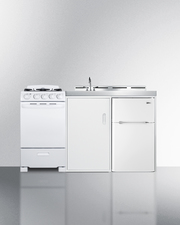 ACK60GASW Kitchenette Front