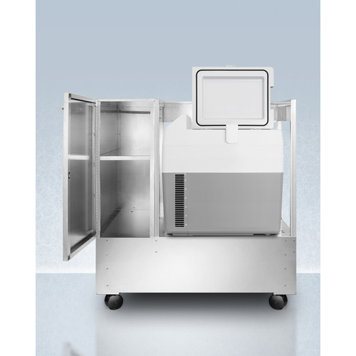 CARTSPRF36 Refrigerator Freezer Open