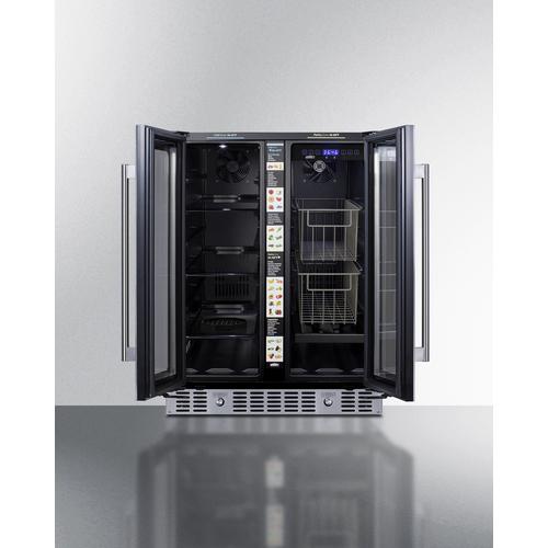 ALFD24WBVPANTRY Refrigerator Open
