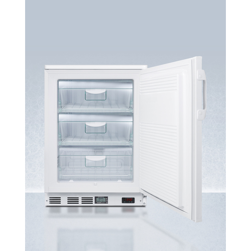 VLT650 Freezer Open