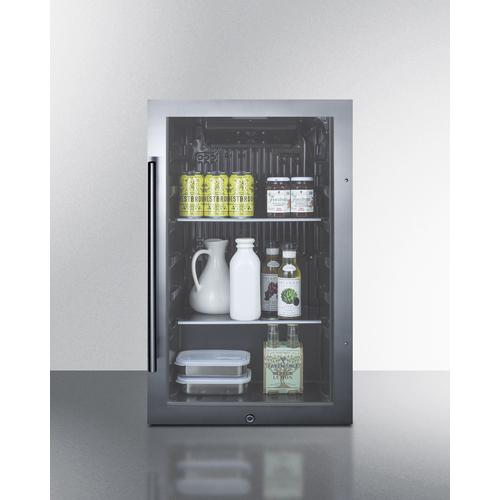 SPR488BOS Refrigerator Full
