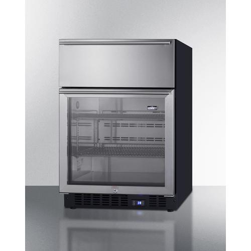 SCR615TD Refrigerator Angle