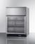 SCR615TDCSS Refrigerator Angle
