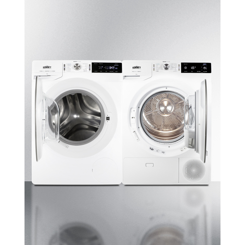 SLS24W4P Washer Dryer Open