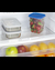 FF82W Refrigerator Freezer Detail