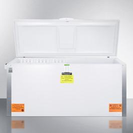 VLT2250 Freezer Open