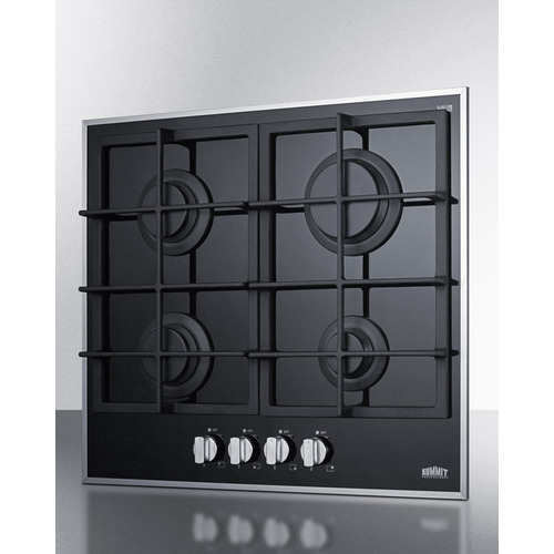 GC424BGL Gas Cooktop Angle