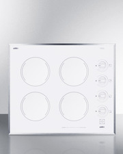 CR424WH Electric Cooktop Front