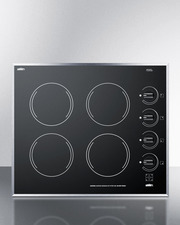 CR424BL Electric Cooktop Front