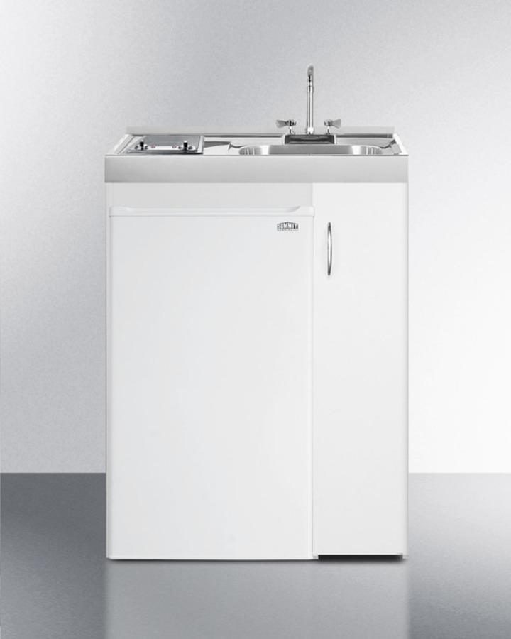 Complete Compact Kitchen Unit: Summit Appliance