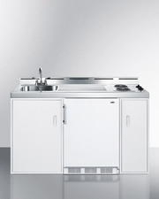 C60EL Kitchenette Front
