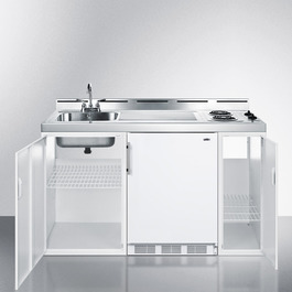 C60EL Kitchenette Open