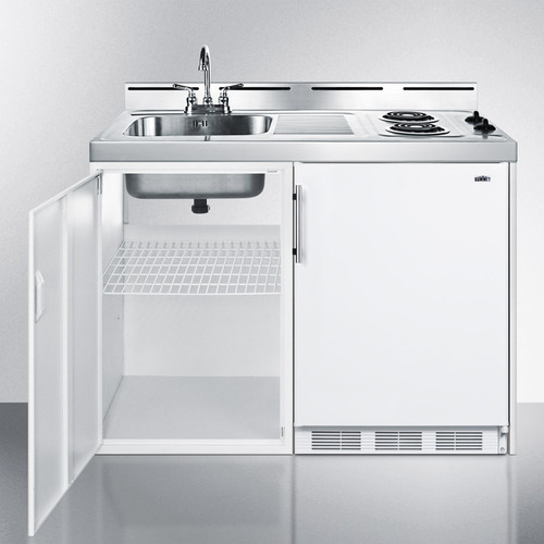 C48EL Kitchenette Open