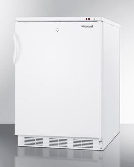VT65ML7BI Freezer Angle