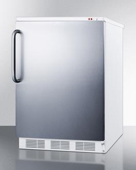 VT65MSSTB Freezer Angle
