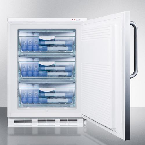 VT65M7SSTB Freezer Full