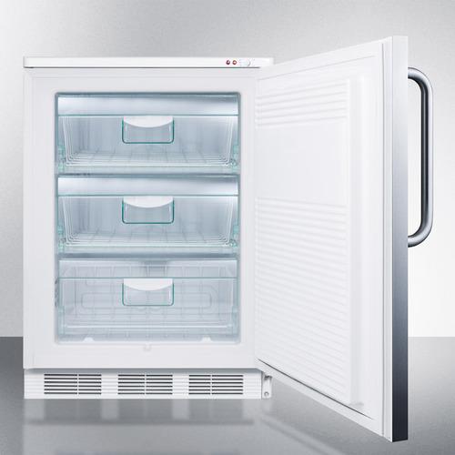 VT65M7SSTB Freezer Open
