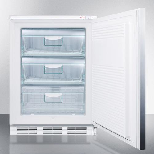VT65M7SSHH Freezer Open
