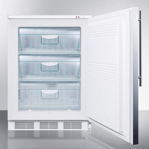 VT65ML7SSHV Freezer Open
