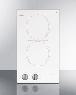 CR2110WH Electric Cooktop Front