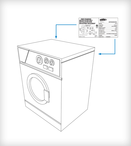 Replacement Parts Summit Appliance