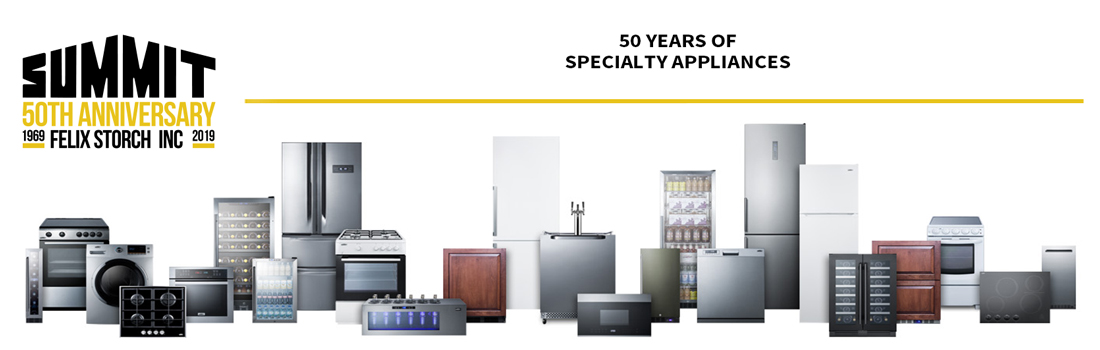 Summit celebrates 50 years of manufacturing specialty appliances