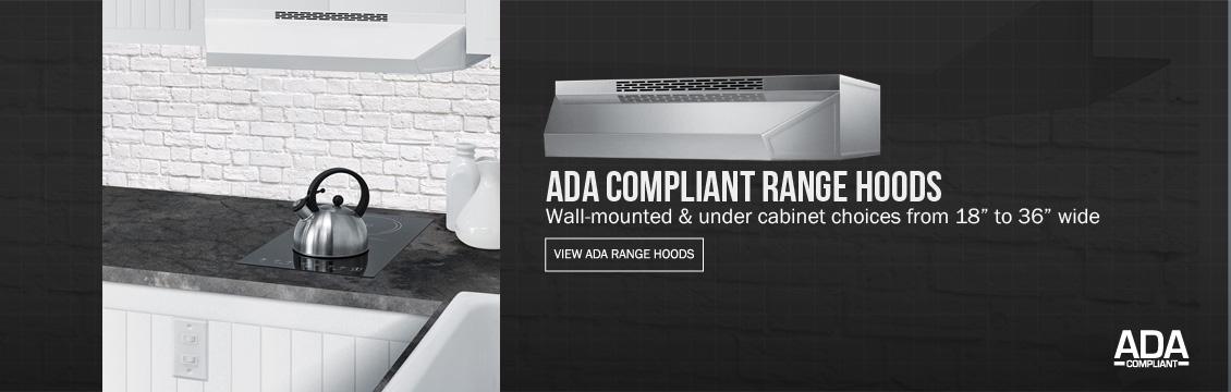 ADA Compliant Range Hoods
