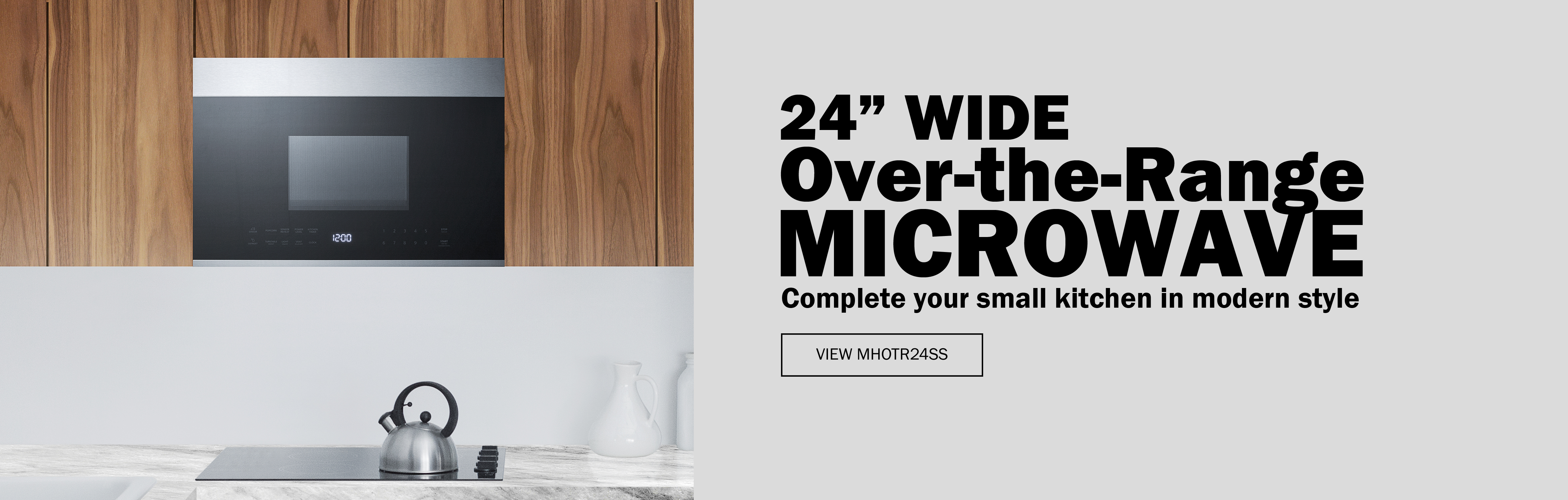 24 Inch Wide Over-the-range Microwave