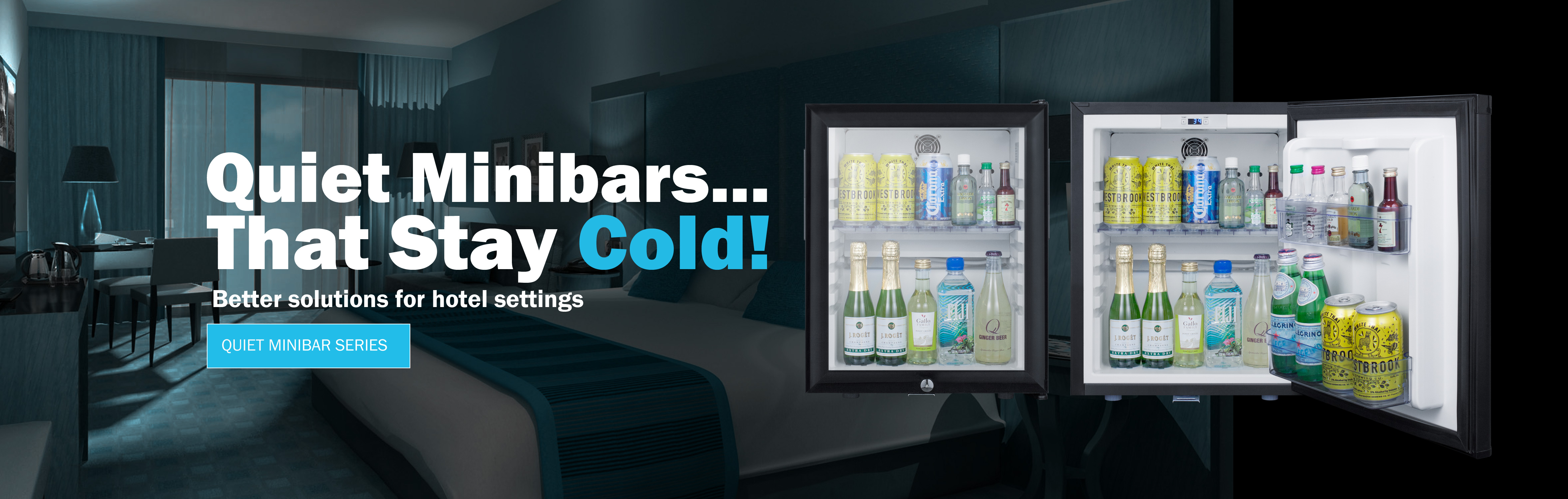 Quiet Minibars...That Stay Cold