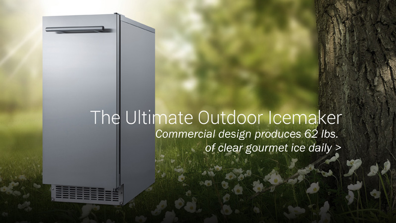 Ultimate outdoor Icemaker